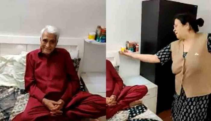 True love never gets old; adorable elderly couple groove to 'Gali me aaj chaand nikla'