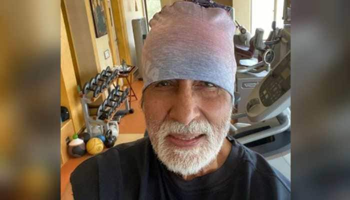 At 77, Amitabh Bachchan is setting fitness goals high with this pic, says 'keep the gym going'