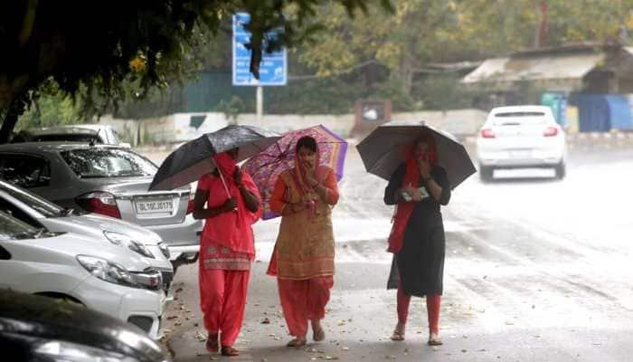 IMD predicts light rain accompanied by thunderstorm, hailstorm in Delhi-NCR on Friday