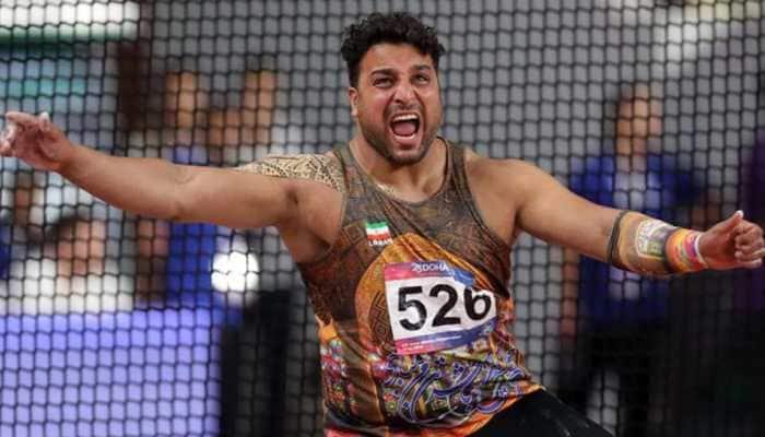 AFI wishes Olympic medallist Ehsan Hadadi a speedy recovery after coronavirus diagnosis