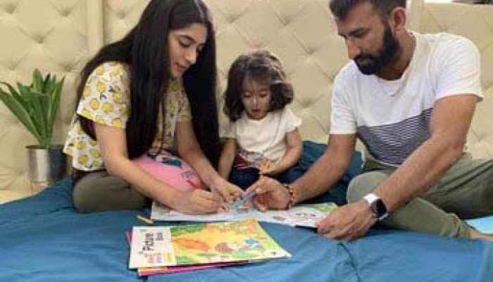 BCCI asks fans to spend time like Cheteshwar Pujara family amid coronavirus lockdown