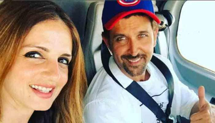 Bollywood news: Hrithik Roshan tries hand at piano in special video photobombed by ex-wife Sussane Khan
