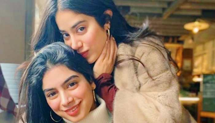 Janhvi Kapoor snuggled up on sister Khushi Kapoor's lap in this pic defines sibling revelry!