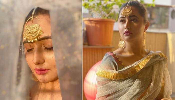 Entertainment News: Did you miss 'Bigg Boss 13' fame Rashami Desai's traditional look this Ram Navami? See pics