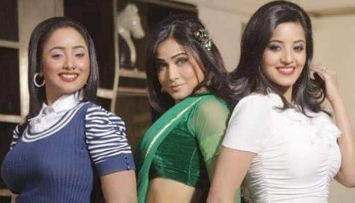 Bhojpuri stunner Rani Chatterjee shares throwback pic with Monalisa, Pakhi Hegde
