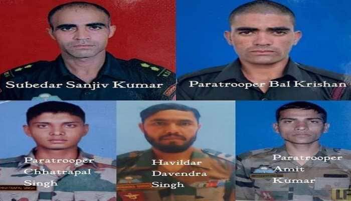 4 Para commandos' last photo shows them marching on to take down terrorists in Kashmir's Kupwara