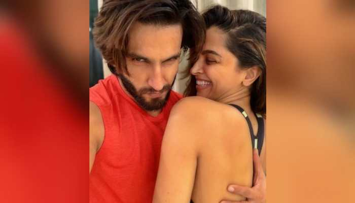 Deepika Padukone and Ranveer Singh's pizza date looked like this, he calls her 'cheesy lover'