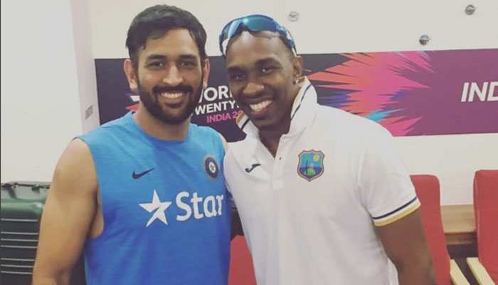 Dwayne Bravo shares sample of his new song on CSK teammate MS Dhoni