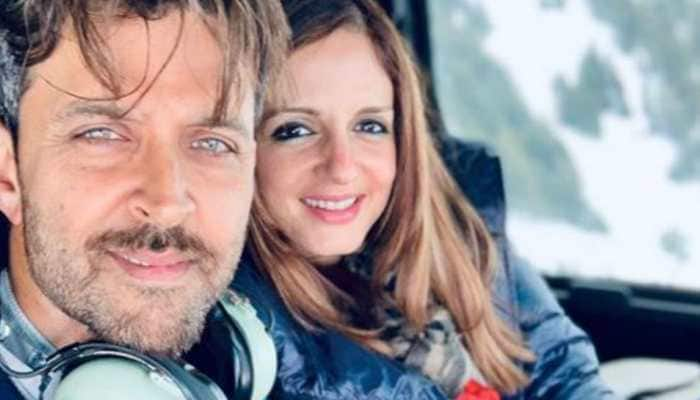 Hrithik Roshan and ex-wife Sussanne Khan trend again, this time for his parents' anniversary-special post