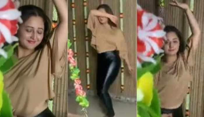 Rashami Desai dances to Jacqueline Fernandez's 'Genda Phool' in viral video, internet loves it