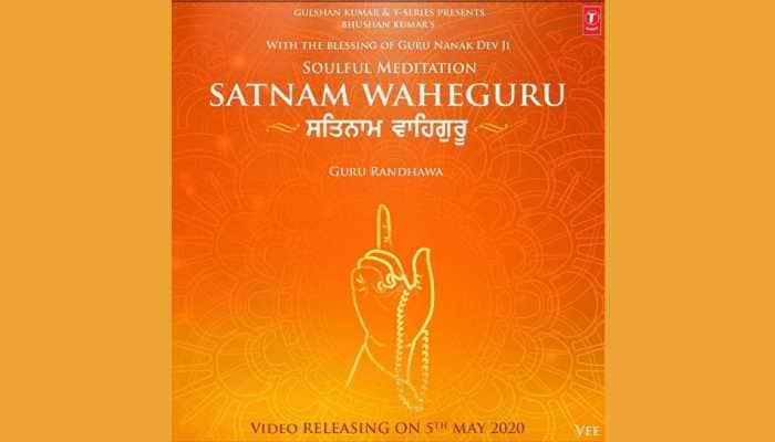 Guru Randhawa unveils devotional song 'Satnam Waheguru'