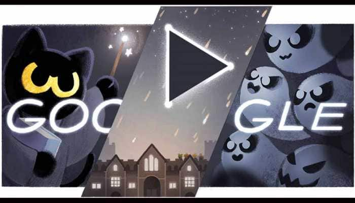 Google Doodle relaunches popular Halloween game 'Magic Cat Academy' under its 'Stay and Play at Home' initiative