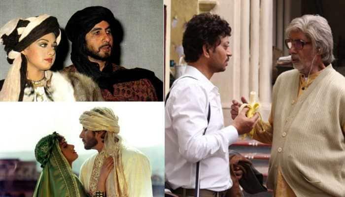 Amitabh Bachchan remembers Sridevi, Irrfan Khan