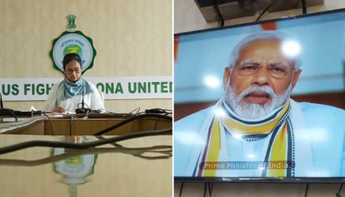 CM Mamata Banerjee alleges Centre of discriminating against West Bengal in video conference with PM Modi