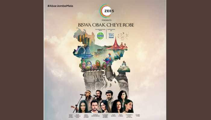 ZEE5 Global brings together top Bangla artists to recreate 'Abar Jombe Mela' in a message of hope for Bangladesh