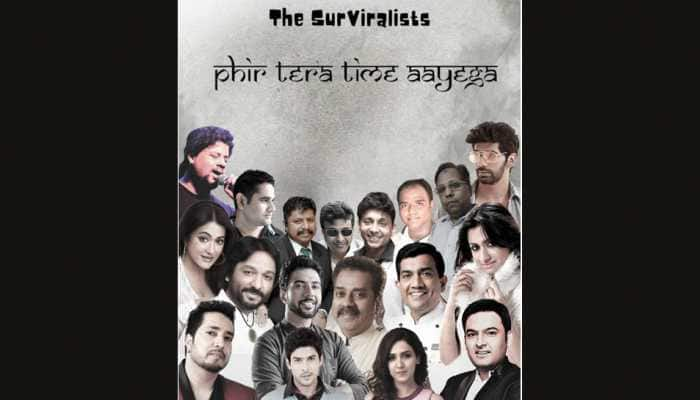 SurViralists' lockdown anthem: Celebs unite for 'Phir Tera Time Aayega' song