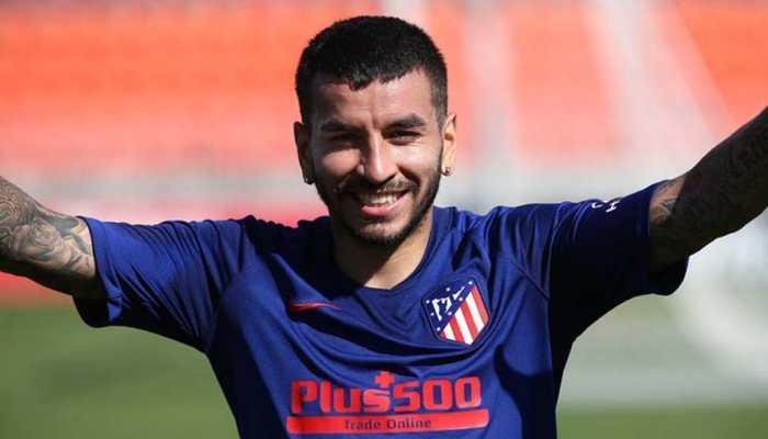Atletico Madrid forward Angel Correa suffers muscle injury in training