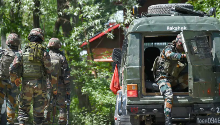 Encounter underway between security forces, terrorists in Anantnag district of Jammu and Kashmir