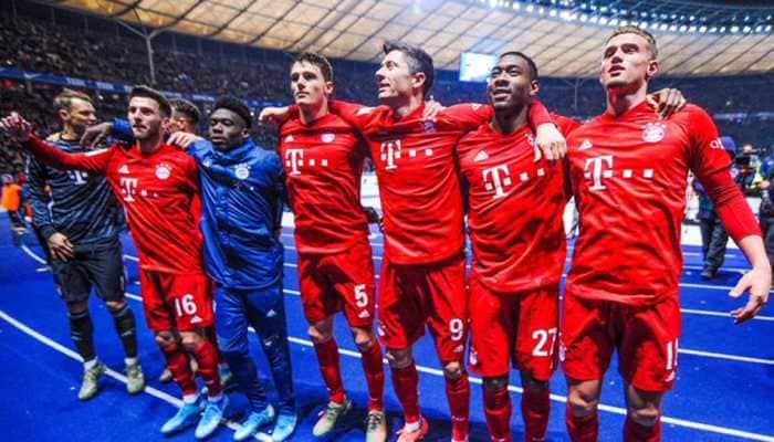 Five-star Bayern Munich thrash Fortuna to close in on Bundesliga title