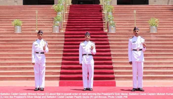 335 cadets graduate at NDA 138 Course passing out parade, Battalion Cadet Captain Shivam Kumar gets Gold Medal, Mukesh Kumar Silver, Parth Gupta Bronze