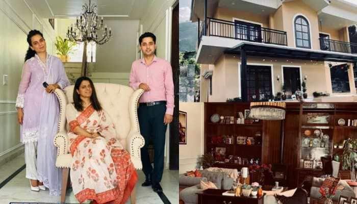 Step inside Kangana Ranaut's sister Rangoli Chandel's super luxurious house in the lap of Himalayas