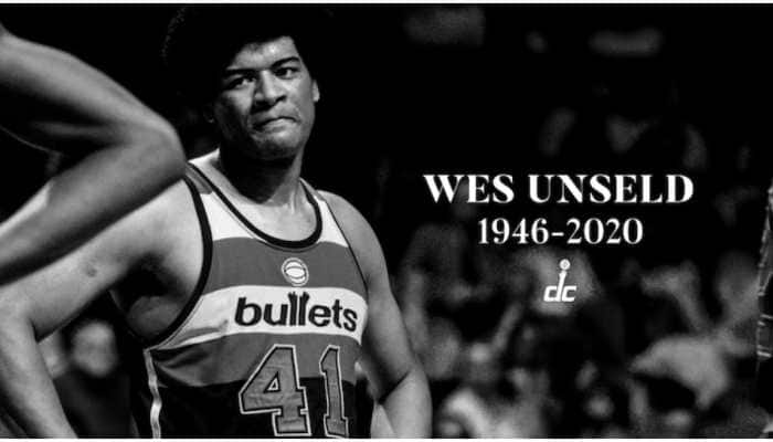 NBA legend Wes Unseld who played for Washington Wizards dies at 74