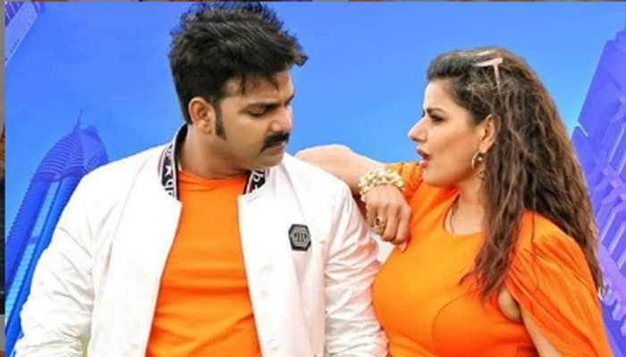 Pawan Singh-Madhhu Shharma's sizzling chemistry tapped in new Bhojpuri song, check out poster!