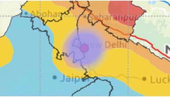 3.0 magnitude earthquake hits Delhi, Noida, Faridabad surrounding areas