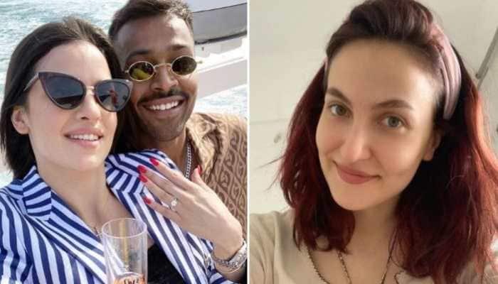 Hardik Pandya's rumoured ex Elli AvrRam reacts to his and Natasa Stankovic's relationship