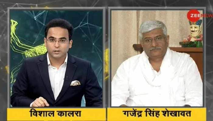 #IndiaKaDNA Conclave: India is safe in the hands of PM Modi, says Gajendra Singh Shekhawat
