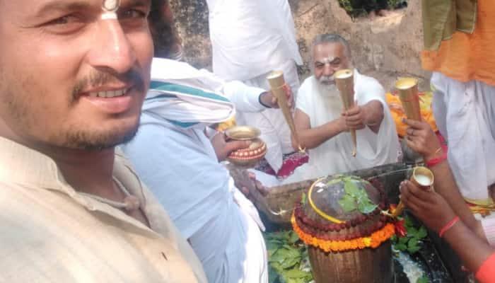 Ram Janmabhoomi: Rudrabhishek held at Kuber Tila in presence of saints