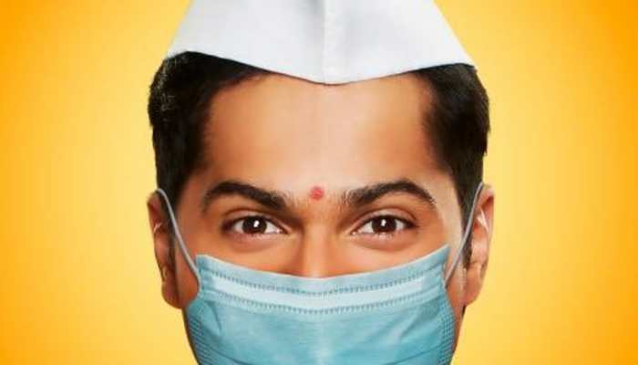 Bollywood News: Varun Dhawan releases new 'masked' poster of 'Coolie No.1' amid coronavirus COVID-19 pandemic