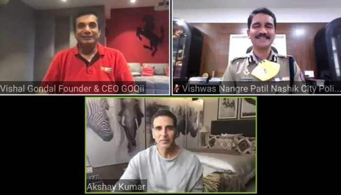 Akshay Kumar joins Nashik City Police to launch centralized online health system for police force