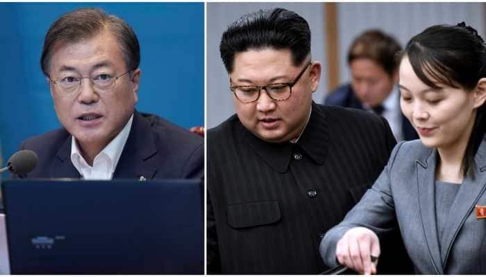 South Korea's President Moon Jae-in urges North Korea to keep peace deals, return to talks