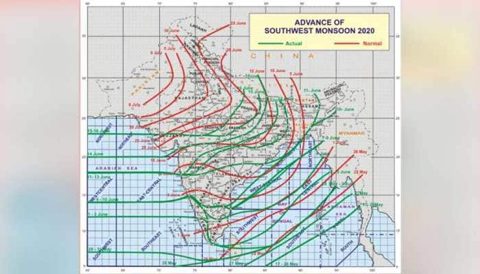 Low pressure area likely to form over Bay of Bengal around June 19: IMD