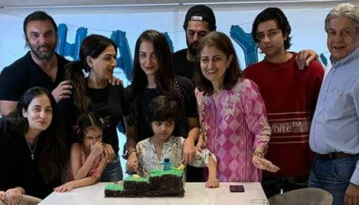 Inside Salman Khan's nephew Yohan's lockdown birthday with family