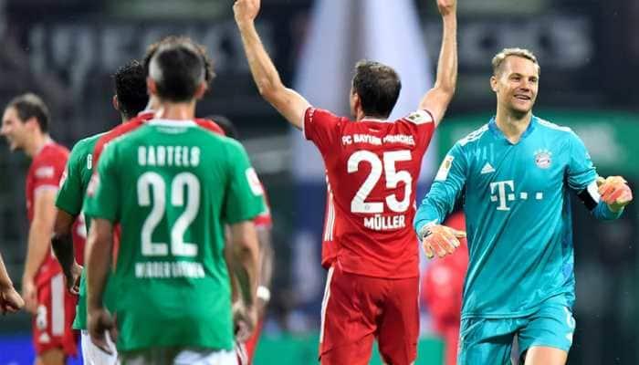Bayern Munich win historic 8th consecutive Bundesliga title