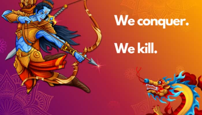 Lord Rama poised to slay China's Dragon: Taiwan news site's illustration on India-China face-off goes viral