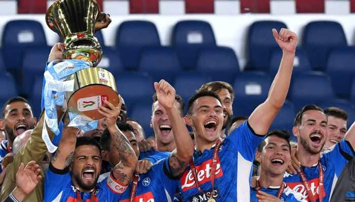 Napoli beat Juventus 4-2 on penalties to win sixth Italian Cup