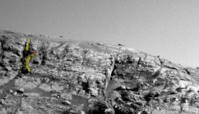 'Alien Warrior Figure' spotted on Mars in NASA image by UFO hunter