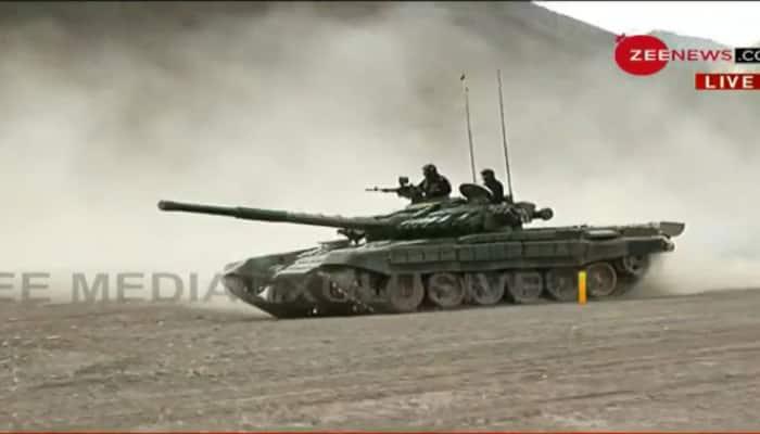 India deploys T-90 Bhishma tank in Ladakh amid border row with ...