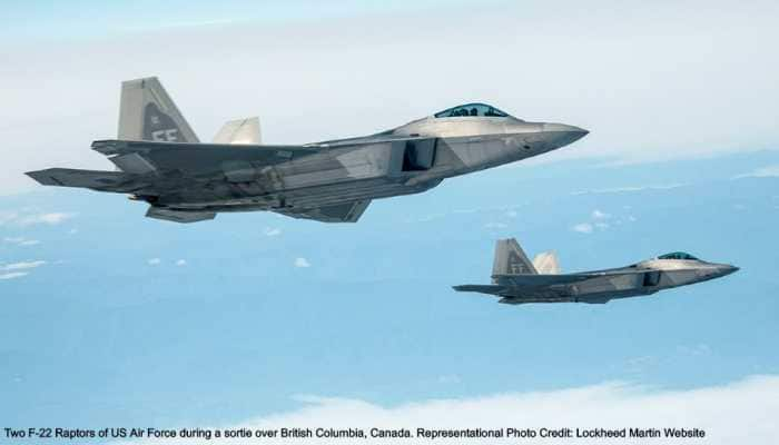 US F-22 Raptors intercept Russian Ilyushin IL-38 spy and anti-submarine warfare aircraft near Alaska