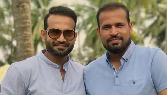 Irfan Pathan gives haircut to brother Yusuf amid coronavirus pandemic--Pic inside