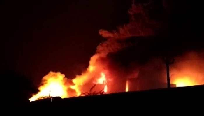 Fire breaks out at a chemical factory in Gujarat's Anand, 15 fire tenders rushed to spot