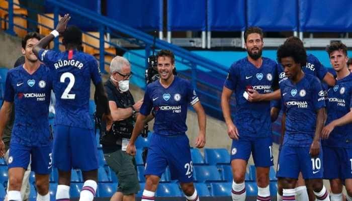 Ross Barkley's strike sends Chelsea into FA Cup semi-final