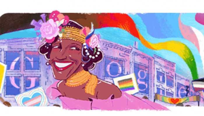 Google Doodle honours gay rights activist Marsha P Johnson marking Pride month 2020