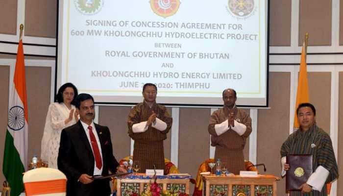 India, Bhutan sign 600 MW Kholongchhu hydroelectric project agreement