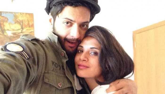 Richa Chadha and Ali Fazal's first magazine cover as a couple!