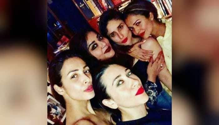 Bffs that pout together stay forever: Malaika Arora on old pic with Kareena Kapoor, Karisma and Amrita
