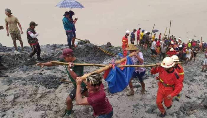 Landslide at jade mine in Myanmar, death toll surges past 100